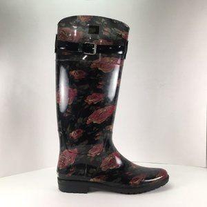 Ralph Lauren Rossalyn II Rain Boots Rose s…